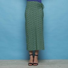 Dress & skirt Stefanie Green in organic cotton jersey