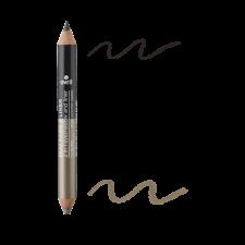 Duo ombretto e matita Charbon/Grège nacré biologico