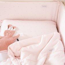 Duvet + pillow case in Bamboo for cot Flower