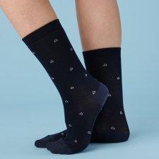 Eco-friendly socks in eucalyptus fiber Navy