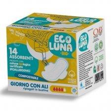 Ecoluna ™ sanitary napkin compostable Day - 14 pcs
