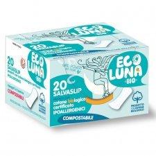 Ecoluna ™ sanitary panty liner compostable - 20 pcs