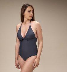 ECONYL® One-piece Swimsuit Eco Anthracite
