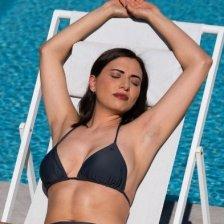 ECONYL® Swimsuit Eco bikini triangle top