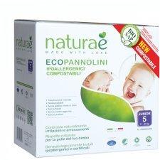 Ecopannolini Compostabili Naturaè® JUNIOR 11-25 kg, 18 pz