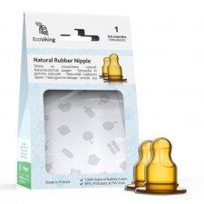 EkoViking natural rubber orthodontic nipple