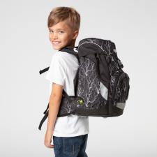 ergobag prime The Single School Backpack - Super Reflect Glow