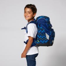 ergobag prime The Single School Backpack - Soccer FanBear