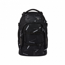 Ergonomic backpack for secondary school in Recycled Pet - Satch Pack Ninja Matrix