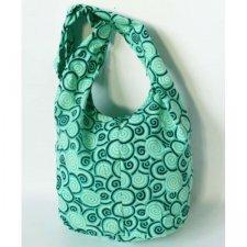 Fair trade small shoulder bag Kitty in cotton
