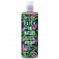 Faith - Lavender & Geranium Shampoo - 400ml