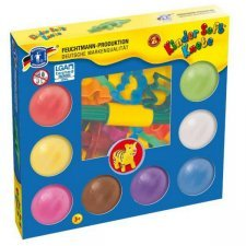 Farm soft play dough - 8 pots with accesoires