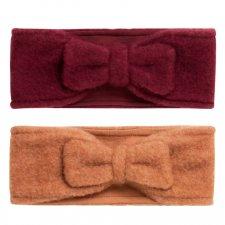 Fascia per Capelli Felina in pile di lana merino