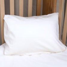 Federa per guanciale 40x60 in cotone biologico Bianco Naturale