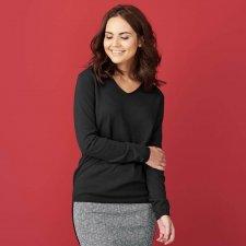 DESIREE woman sweater in organic cotton