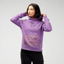 Felpa pesante Utility Hood da donna in cotone biologico e inserti impermeabili