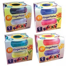 Finger paint Klecksi 2 jars