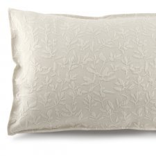 Fiore pillow cover in organic cotton