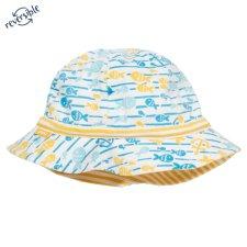 Fish explorer hat in organic cotton