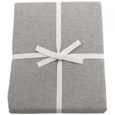 Fitted sheet Brown Melange in organic cotton