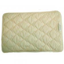Flat pillow 40x60 in organic cotton