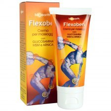 Flexoben massage cream with glucosamine msm and arnica