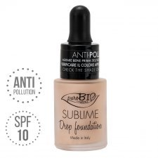 Fondotinta Drop Foundation Sublime 00 puroBIO VEGAN