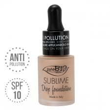 Fondotinta Drop Foundation Sublime 02 Y puroBIO VEGAN
