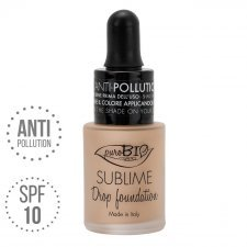 Fondotinta Drop Foundation Sublime 03 Y puroBIO VEGAN