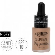 Fondotinta Drop Foundation Sublime 04 Y puroBIO VEGAN