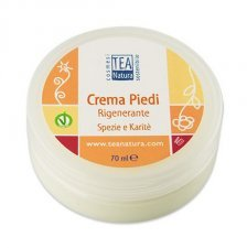 Foot crem with organic shea butter and vitamins