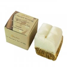 Footbath soap scrub spong Cypress