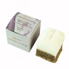 Footbath soap scrub spong Lavender