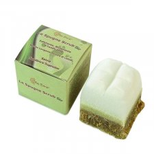 Footbath soap scrub spong Sage
