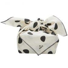 Furoshiki 65cm, Japanese towel to wrap carry in organic cotton
