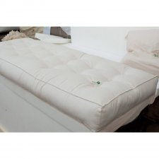 Futon in cotone biologico e lattice