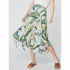 Garabina Banana Print Tencel Skirt