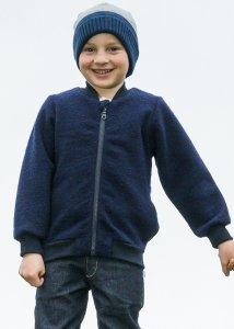 Giacca Bernie per bambini in lana cotta biologica