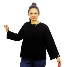 Giacca Elli in lana cotta