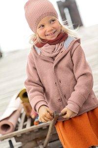 Giacca per bambini in pura lana cotta biologica