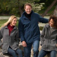 Giacca unisex Engel in pile pesante di lana biologica