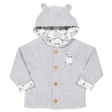 Giacchina a maglia Baby sheep dreams in cotone biologico
