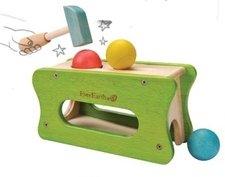 Gioco martello e palla in legno