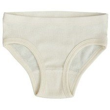 Girl panties in organic cotton