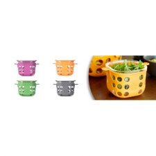 Glass food storage with silicone sleeve 475ml