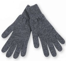 Gloves in organic wool
