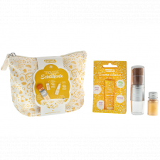 Golden Glitter Kit natural make-up