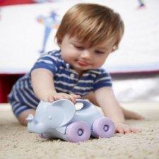 Green Toys animaletto su ruote da spingere - Elefantino