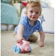 Green Toys™ Push toy on wheels- Pig
