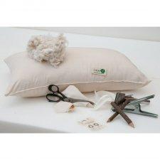 Guanciale cusciniBio in cotone biologico 50x80